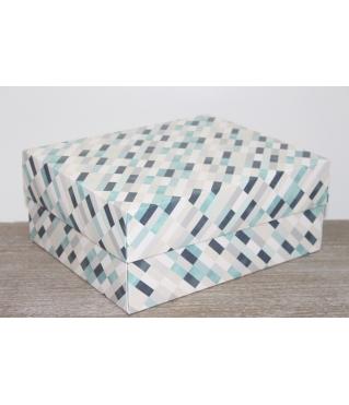 Коробка подарочная 280*230*120 мм, дизайн 2020-2, полноцветная