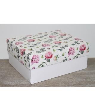 Коробка подарочная 280*230*120 мм, дизайн 2020-7, с белым дном