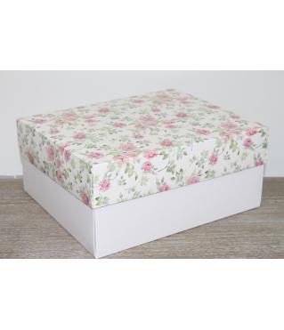 Коробка подарочная 280*230*120 мм, дизайн 2020-10, с белым дном