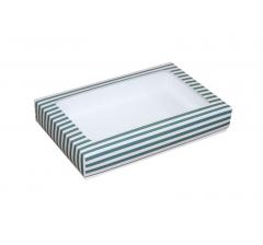 Коробка подарочная с окном 230*150*40 мм, дизайн 07