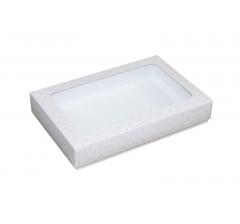 Коробка подарочная с окном 230*150*40 мм, дизайн 02