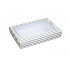 Коробка подарочная с окном 230*150*40 мм, дизайн 010