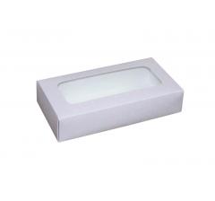 Коробка подарочная с окном 180*90*40 мм, дизайн 04
