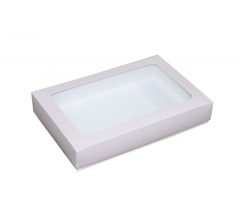 Коробка подарочная с окном 230*150*40 мм, дизайн 08