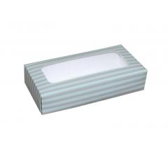 Коробка подарочная с окном 180*90*40 мм, дизайн 08