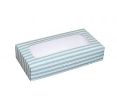 Коробка подарочная с окном 180*90*40 мм, дизайн 016