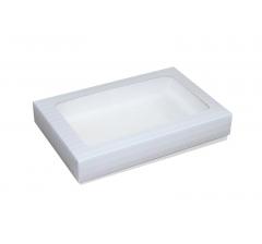 Коробка подарочная с окном 230*150*40 мм, дизайн 06