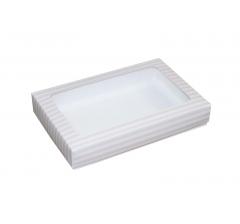 Коробка подарочная с окном 230*150*40 мм, дизайн 012
