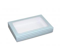 Коробка подарочная с окном 230*150*40 мм, дизайн 014