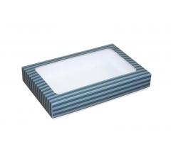 Коробка подарочная с окном 230*150*40 мм, дизайн 016