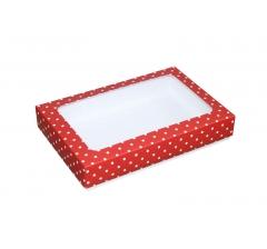 Коробка подарочная с окном 230*150*40 мм, дизайн 018
