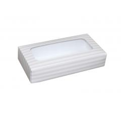 Коробка подарочная с окном 180*90*40 мм, дизайн 022