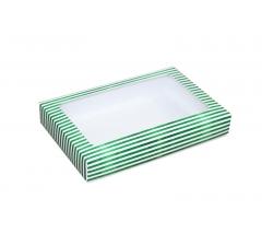 Коробка подарочная с окном 230*150*40 мм, дизайн 019