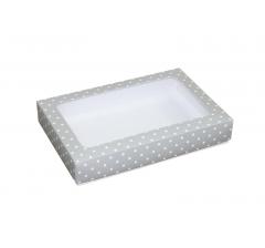 Коробка подарочная с окном 230*150*40 мм, дизайн 021