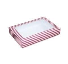 Коробка подарочная с окном 230*150*40 мм, дизайн 022