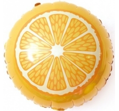 Воздушный шар (18''/46 см) Круг, Апельсин, Оранжевый