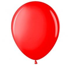 Шар (12''/30 см) Красный, пастель
