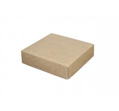 Коробка подарочная 110*110*28 мм, крафт