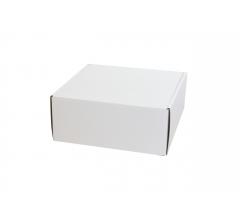 Коробка 200*200*85 мм, бел, ДП82