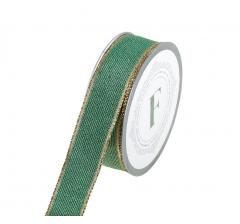 Лента декоративная 225371 3 см*10 м, зеленая