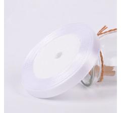 Лента атласная 25 мм/30 м, белая