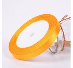 Лента атласная 25 мм/30 м, апельсин