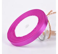 Лента атласная 25 мм/30 м, пурпурная