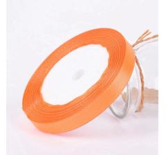 Лента атласная 25 мм/30 м, оранжевая