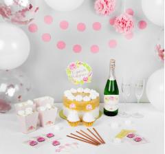 """Набор для оформления праздника """"Розовое шампанское"""""""