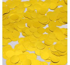 Конфетти фольга, круги, золото, 2 см, 10 гр