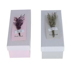 Коробка подарочная, розовый 9cm /10cm /24cm