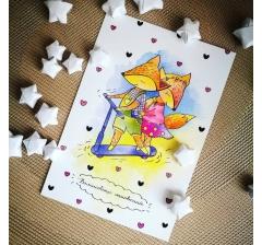 """открытка """"волшебных мгновений"""""""