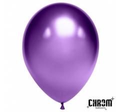 Шар (12''/30 см) Фиолетовый, хром
