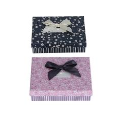 Коробка подарочная, розовый 4cm /12cm /16cm