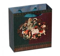 Пакет подарочный 14,5*15*6 см ,Рождество
