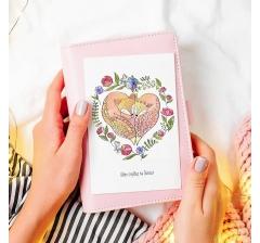 "открытка ""одно сердце на двоих"""