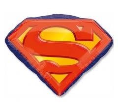 шар (66*50 см)ФИГУРА Супермен эмблема