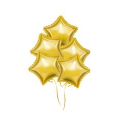 Связка шаров ( 5 фольгированных)