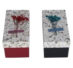 Коробка подарочная, красная 10cm /11cm /21cm