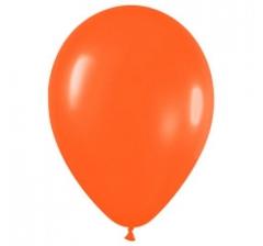 Шар (12''/30 см) Оранжевый , пастель