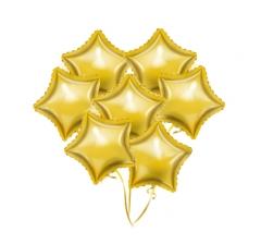 Связка шаров ( 7 фольгированных)