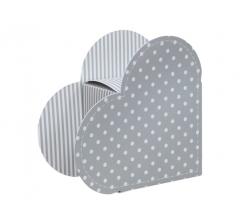 Коробка в форме сердца 20*22*9 см, дизайн 28