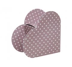 Коробка в форме сердца 20*22*9 см, дизайн 33
