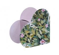 Коробка в форме сердца 20*22*9 см, дизайн 42