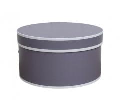 Коробка цилиндр, d-200, h-110, дизайн 10