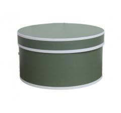 Коробка цилиндр, d-200, h-110, дизайн 12