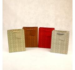 Пакет подарочный 14,5*11,5*6см ,kr1408xs ,коричневый