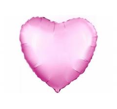 Шар (19''/48 см) Сердце, Розовый