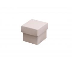 Коробка подарочная 35*35*35 мм нюд