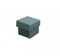Коробка подарочная 35*35*35 мм зеленая